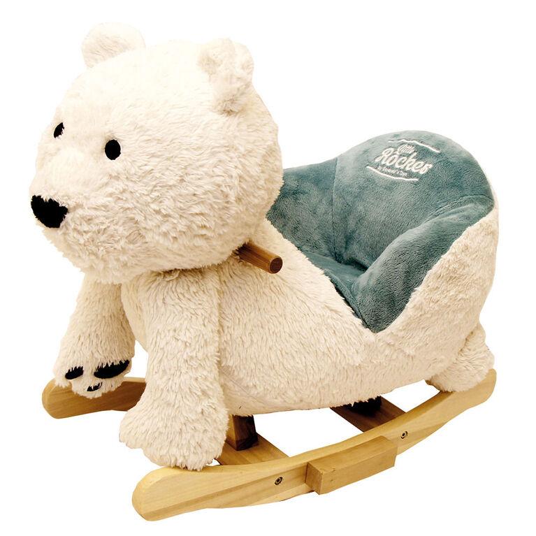 Gerardo's Toys - Little Rocker-  Polar Bear