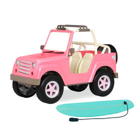 Our Generation, OG Off Roader, Vehicle Accessory with Electronics for 18-inch Dolls