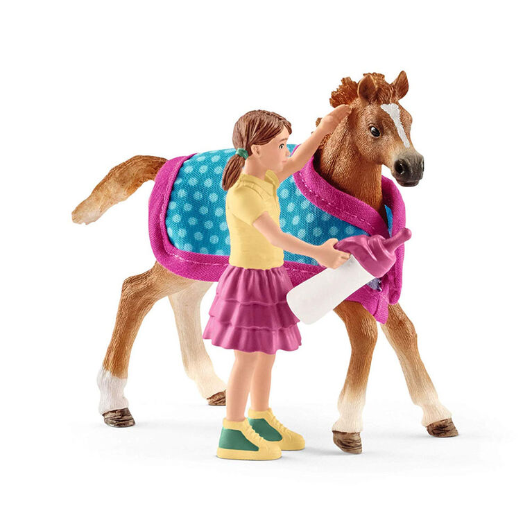 Horse Club - Foal with Blanket