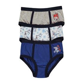 Disney  Underwear Boys Knit 3 pk Frozen II - Size 4