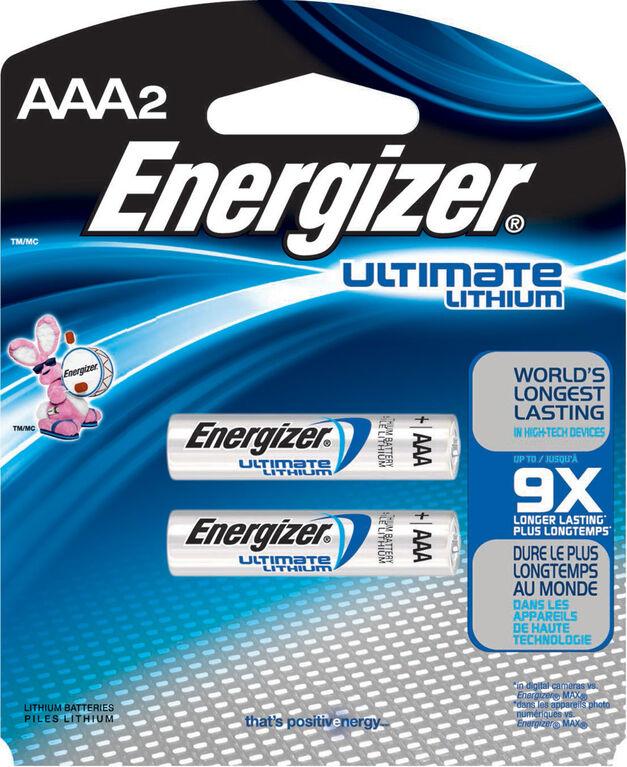 Energizer Ultimate Lithium AAA2