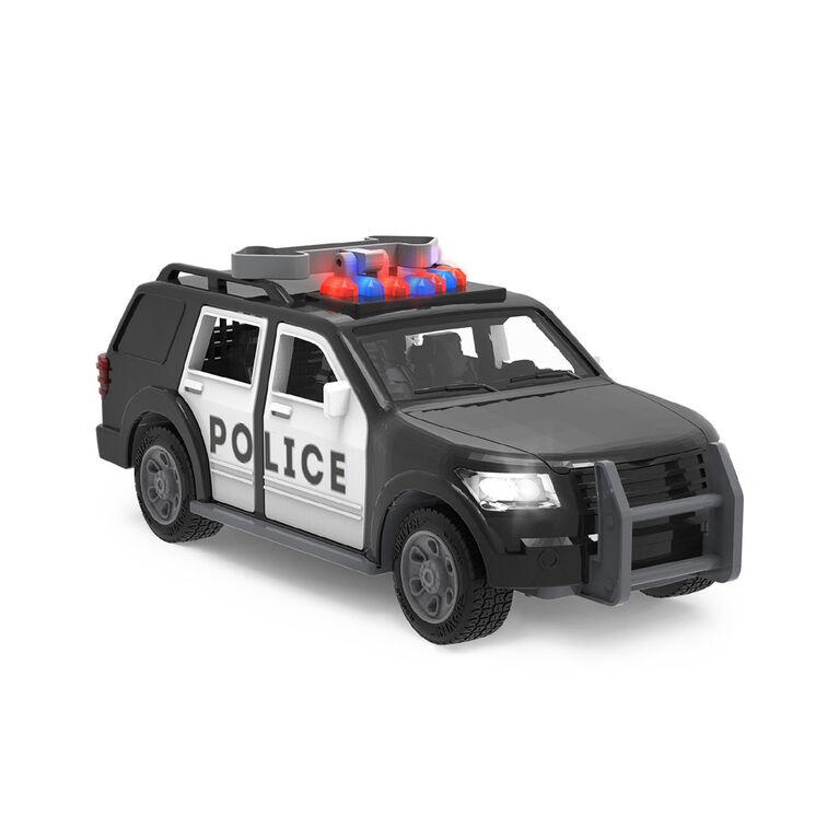 Driven, Véhicule de police avec lumières et sons