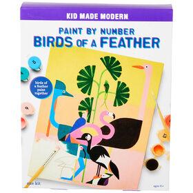 Peinture par numéro Birds of a Feather