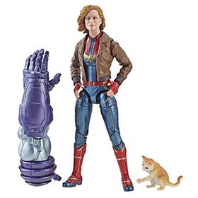 Captain Marvel - 6-inch Legends Captain Marvel in Bomber Jacket