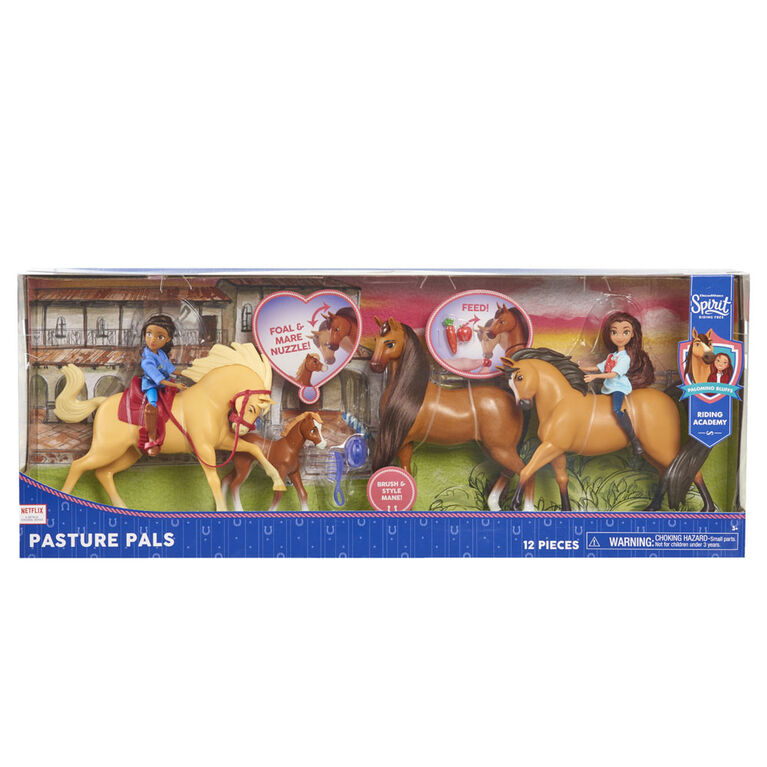 DreamWorks Spirit Riding Free Pasture Pals 13-Piece Doll & Horse Set - R Exclusive