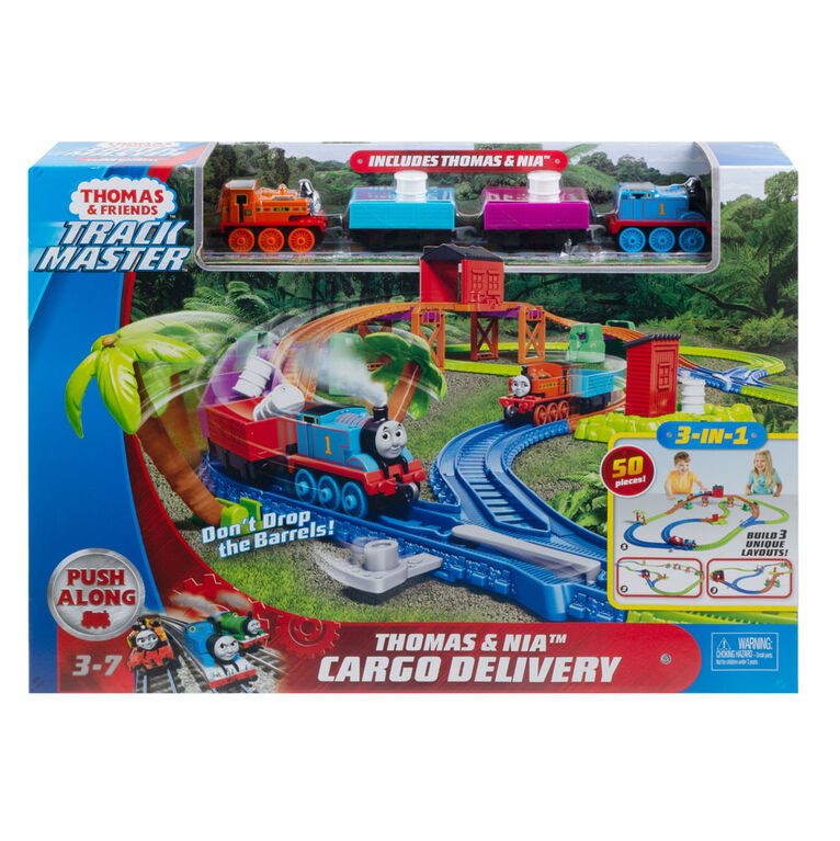 Thomas & Friends TrackMaster Thomas & Nia Cargo Delivery - English Edition