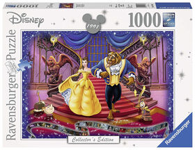 Ravensburger! Disney - Beauty & The Beast Collector's Edition Jigsaw Puzzle - 1000 Piece