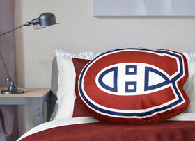 NHL Logo Pillow - Montreal Canadiens