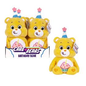 "Care Bears 9"" Bean Plush - Birthday Bear"