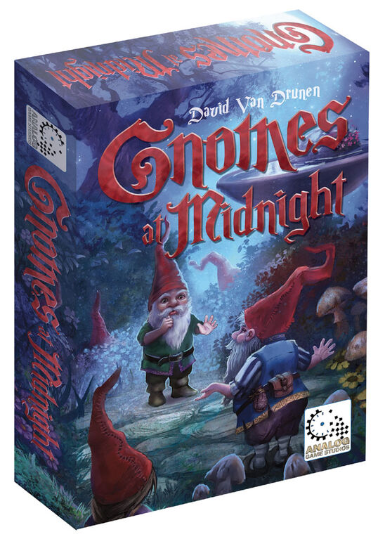 Analog Game Studios - Jeu De Plateau Gnomes at Midnight - Édition anglaise