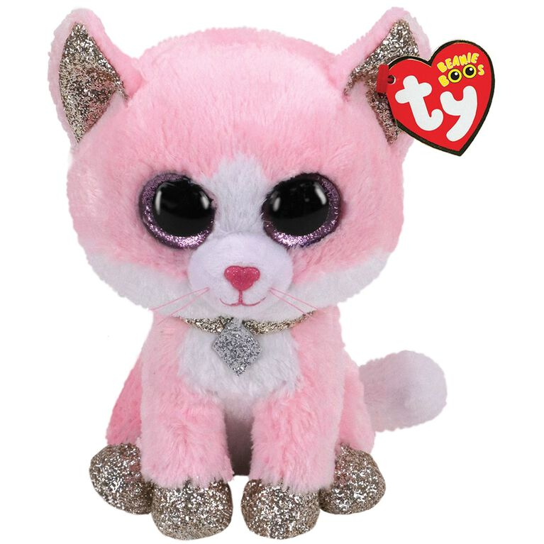 Ty Beanie Fiona The Pink Cat