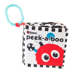 Sassy Peek-a-Boo Activity Book