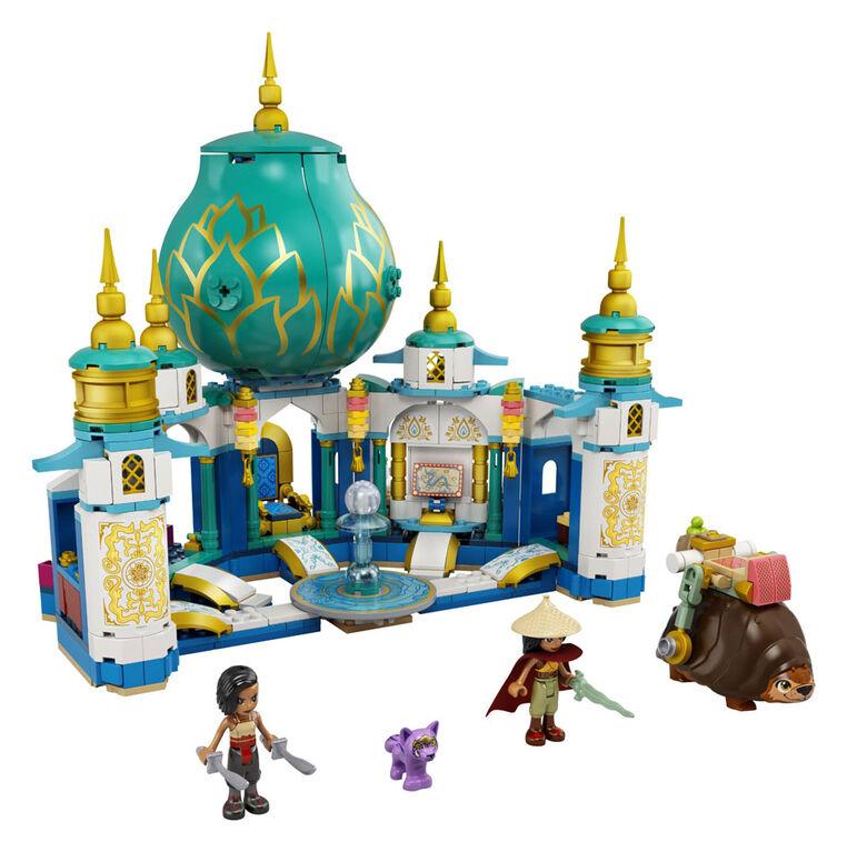 LEGO Disney's Raya and the Last Dragon Raya and the Heart Palace 43181