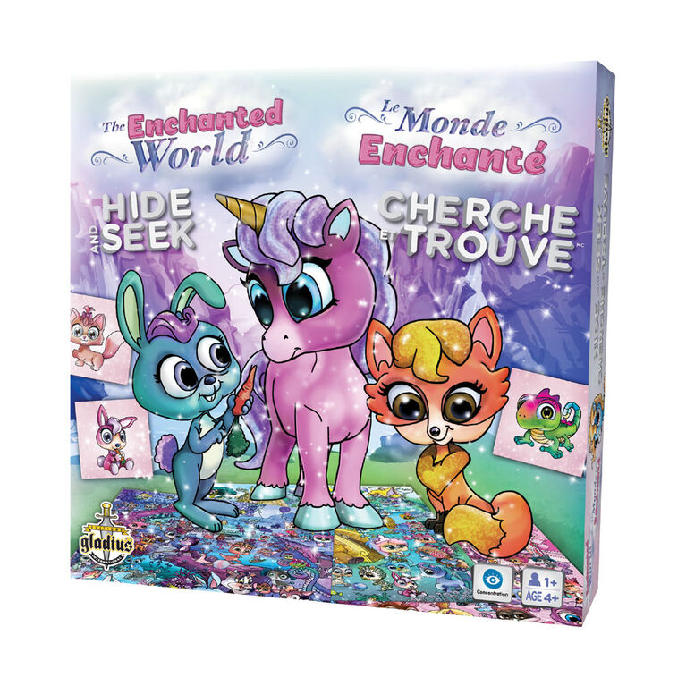 Hide & Seek - The Enchanted World - French Edition
