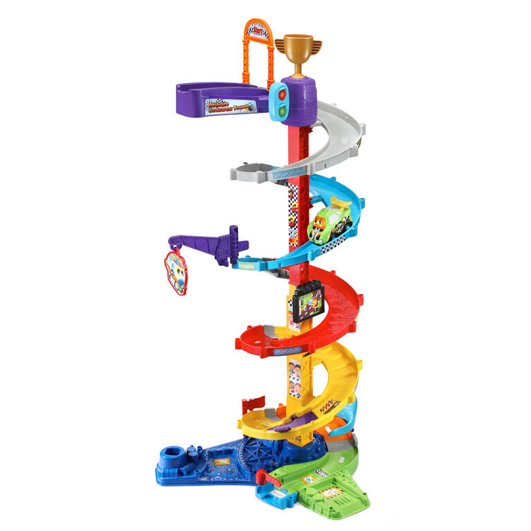 VTech Go! Go! Smart Wheels Ultimate Corkscrew Tower - English Edition