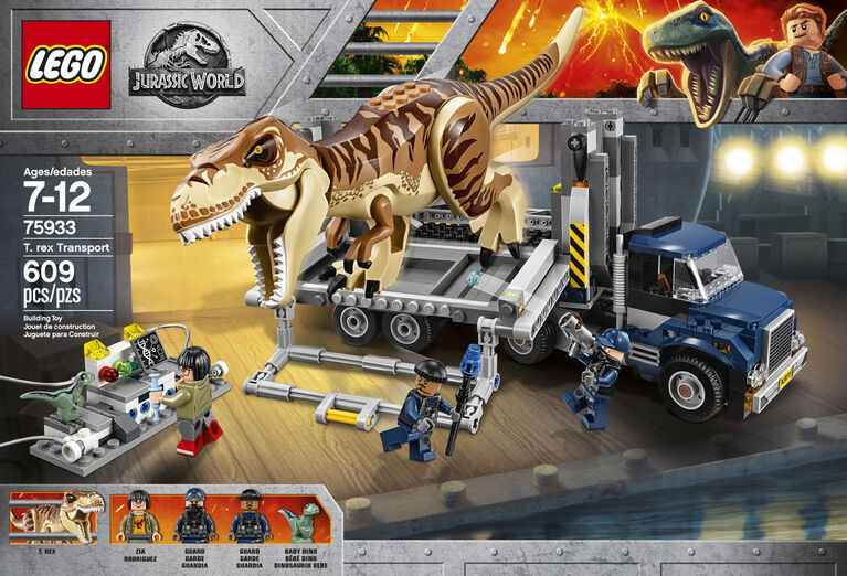 LEGO Jurassic World T Rex Transport 75933 - Exclusive