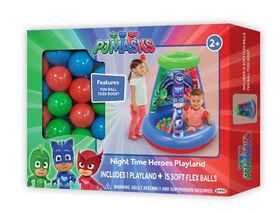 Les Pyjamasques Ensemble de Jeu avec 15 Balles