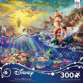 Ceaco: Thomas Kinkade Disney - Little Mermaid - 300 Piece Puzzle