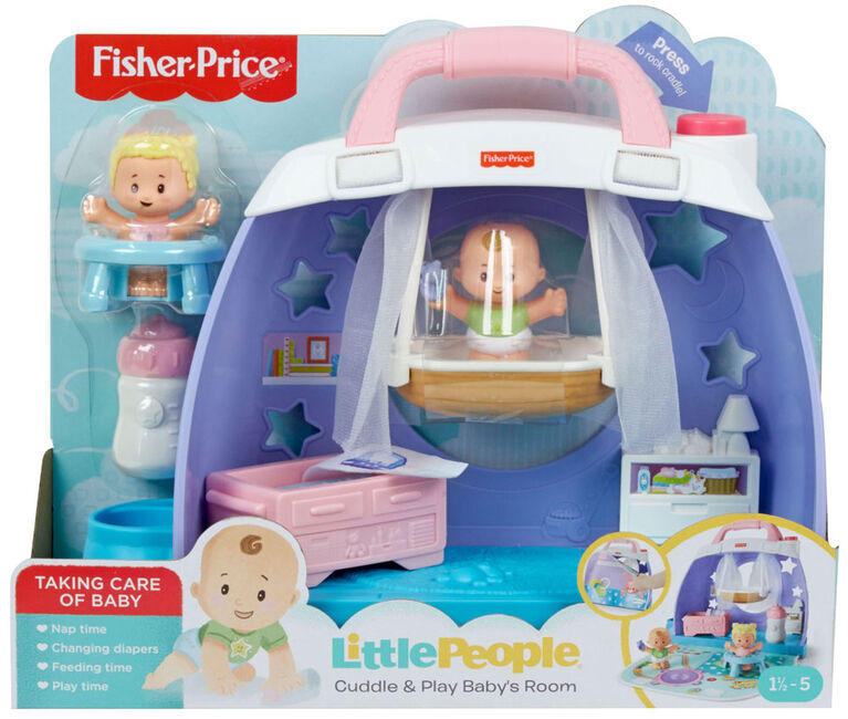 Fisher-Price Little People Cuddle & Play Nursery