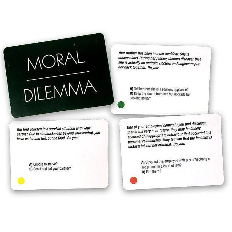 Moral Dilemma Game