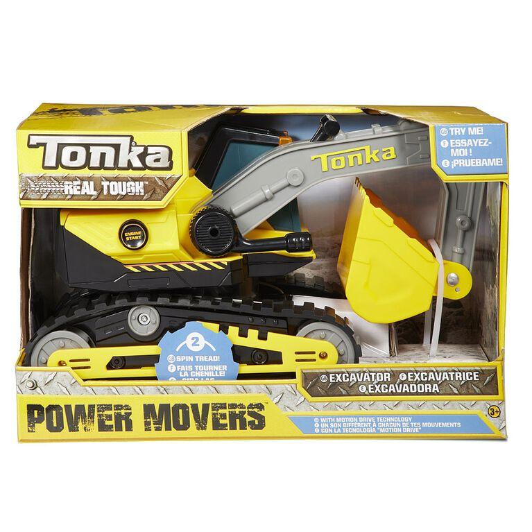 Excavatrice Power Movers Tonka.