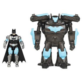 Batman Bat-Tech 4-inch Deluxe Action Figure with Transforming Tech Armor - Styles May Vary