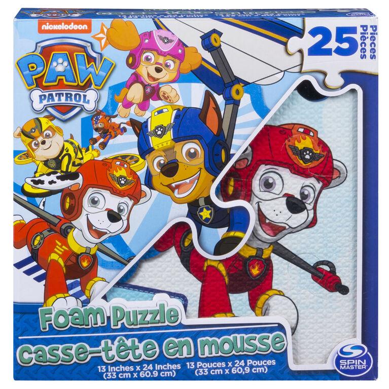 PAW Patrol 25-Piece Foam Puzzle