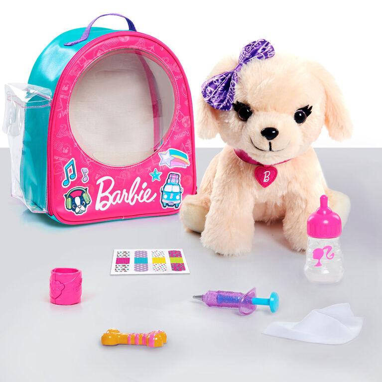 Ensemble de Sacoche de Véto Barbie - Labradoodle.