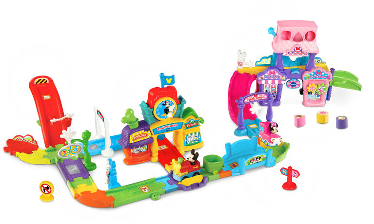 VTech Go! Go! Smart Wheels® - Disney Mickey Choo-Choo Express - Édition anglaise