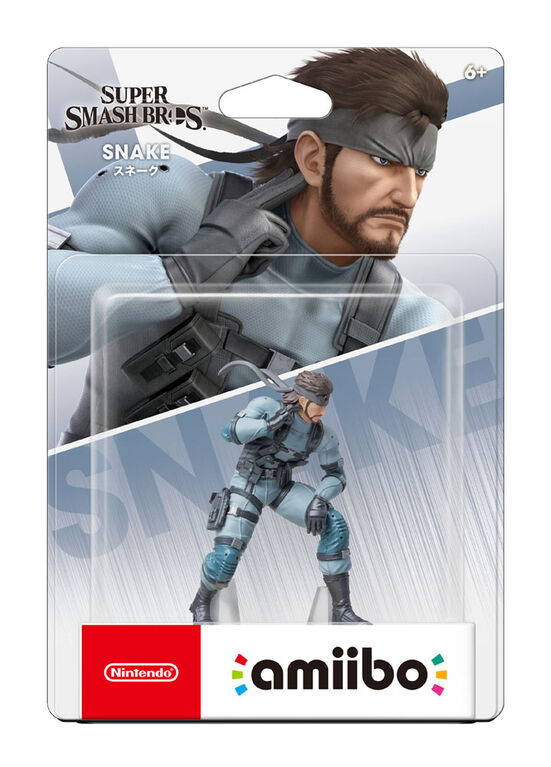 amiibo - Snake - Super Smash Bros. Series