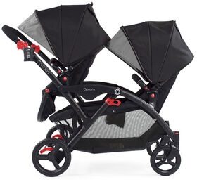 Contours Options Tandem Stroller - Black/Grey - R Exclusive