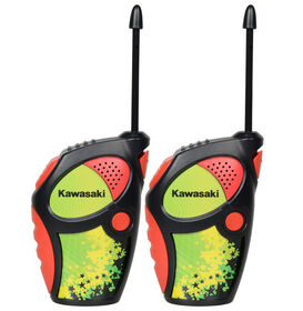 Kawasaki Sports Walkie Talkies Radios for Kids - Red