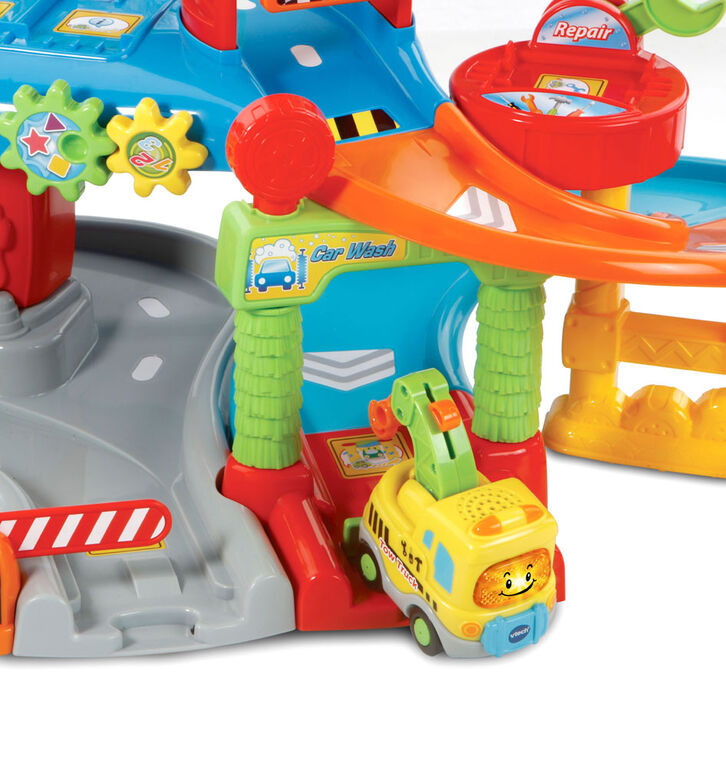 Vtech - Go! Go! Smart Wheels Tow & Go Garage - English Edition