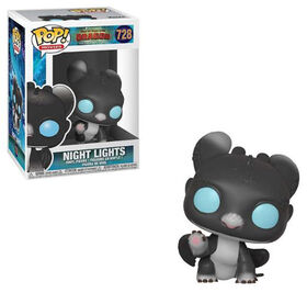 Funko POP! Movies: How To Train Your Dragon 3 - Night Lights (Blue Eyes) Vinyl Figure