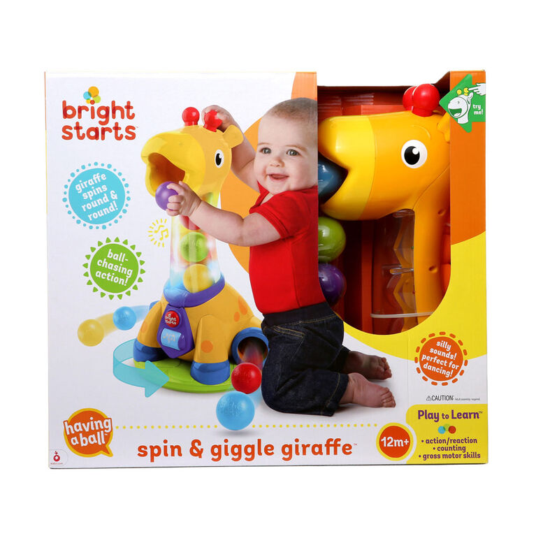 Bright Starts - Having a Ball - Spin & Giggle Giraffe