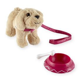 Journey Girls - Animal domestique joueur - Golden retriever