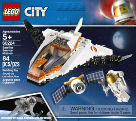 LEGO City Space Port Satellite Service Mission 60224