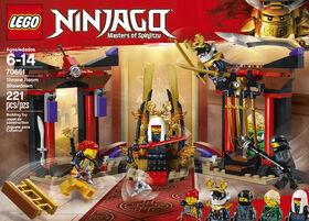 LEGO Ninjago La confrontation dans la salle du trône 70651