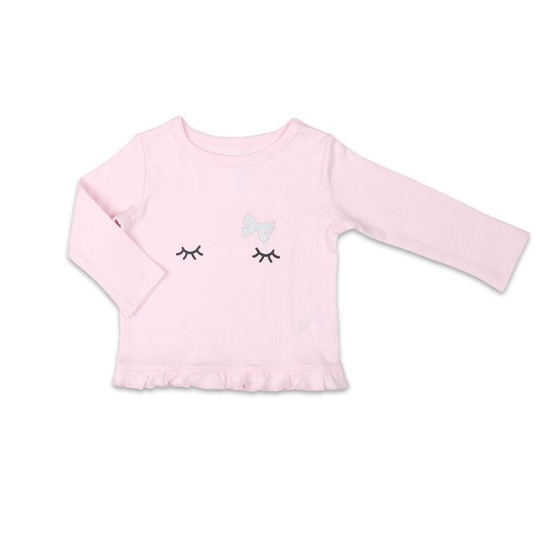 Koala Baby Shirt and Pants Set, Pink/Grey - 0-3 Months