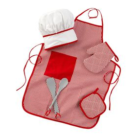 KidKraft - Tasty Treats Chef Accessory Set - Red