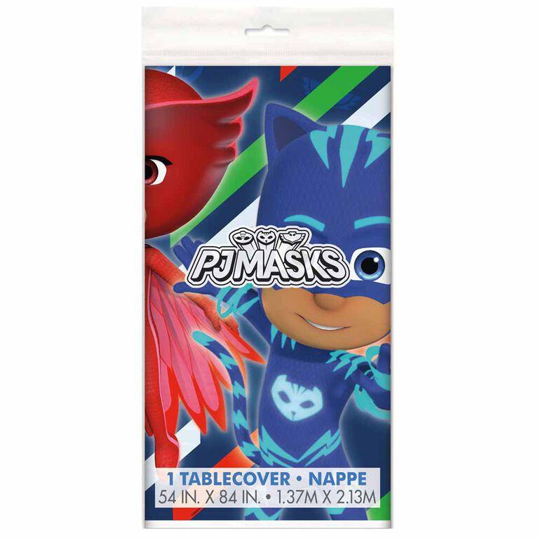 """PJ Masks Nappe en Plastique 54"""" x 84"""""""
