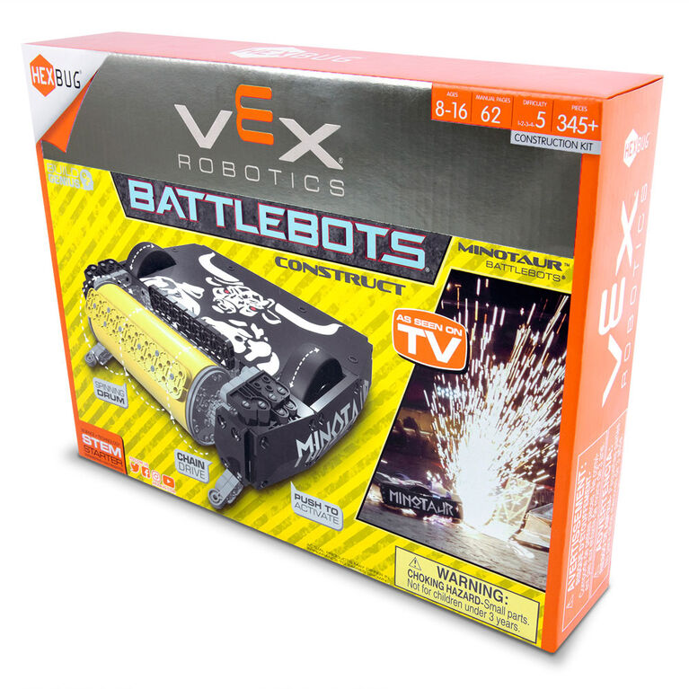 HEXBUG VEX Robotics BattleBots - Minotaur