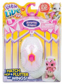 Little Live Pets - Dragon Surprise - Violet/Rose.