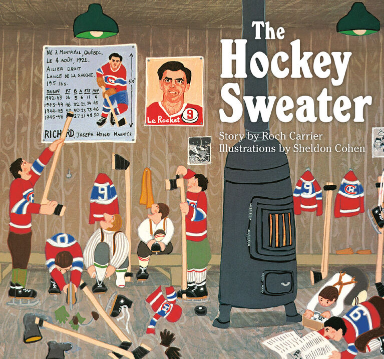 The Hockey Sweater - English Edition