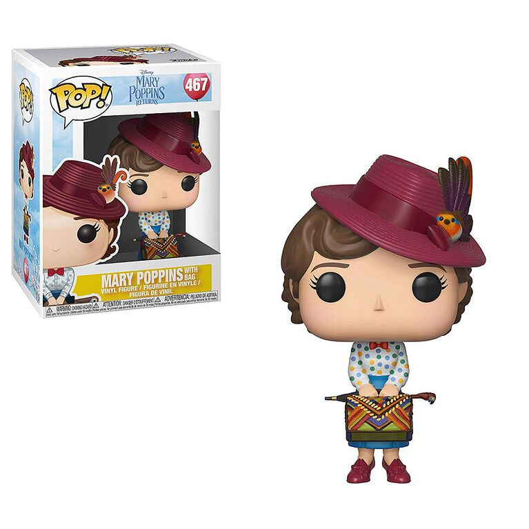 Funko POP! Disney: Mary Poppins - Mary Poppins with Bag Vinyl Figure