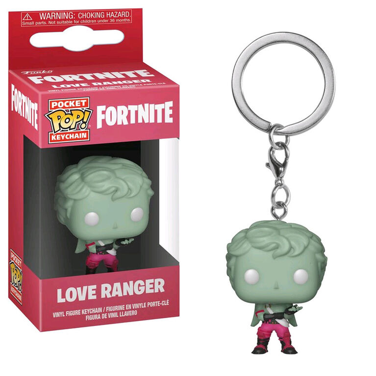 Funko Key Chain! POP: Fortnite - Love Ranger Vinyl Figure