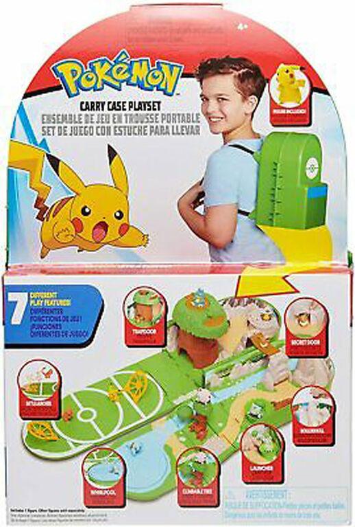 Pokémon - Ensemble de jeu en trousse portable