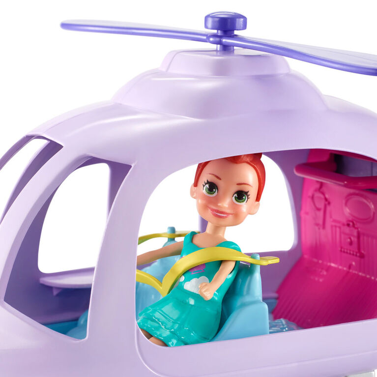 Polly Pocket Vacation Helicopter - R Exclusive