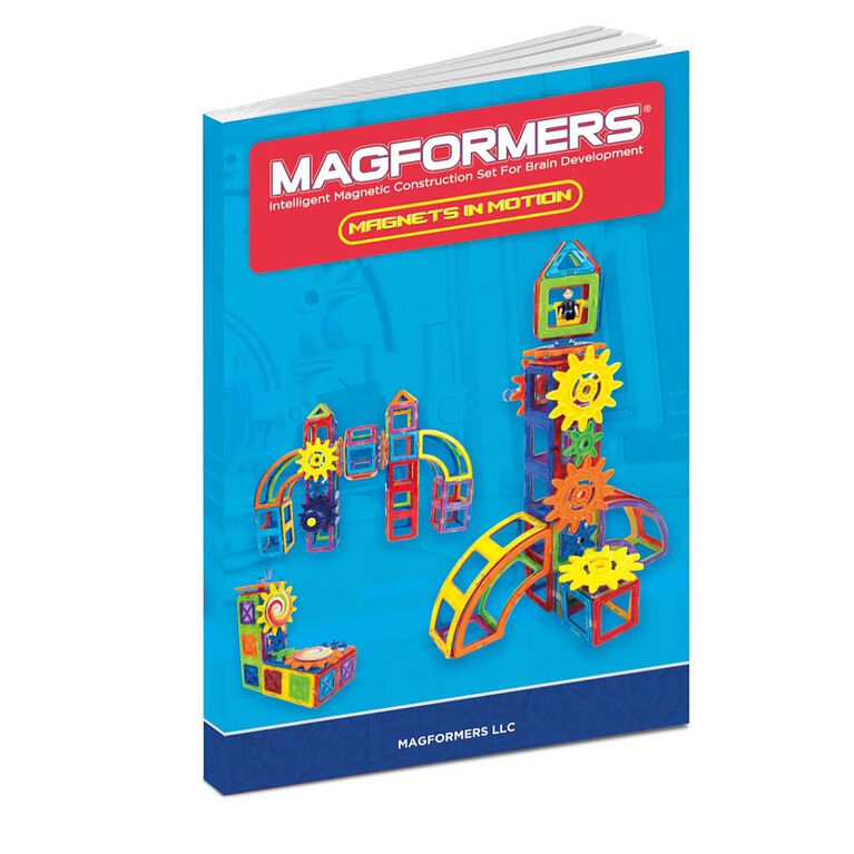 Magformers Magnets in Motion Gear Accessory 20 Piece Set