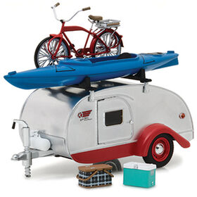1:24 Hitch & Tow Trailers Séries 4 - Teardrop Trailer